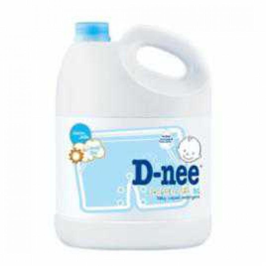 Nước giặt xả Dnee 3000ml màu xanh